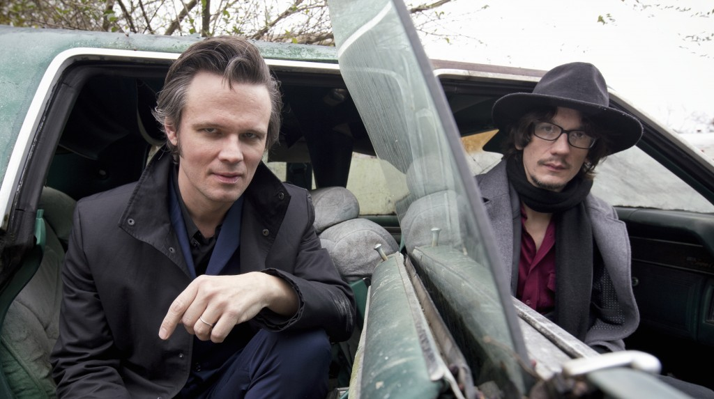 Luther Dickinson and Cody Dickinson from the North Mississippi Allstars
