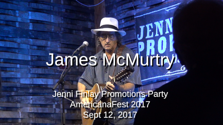 James McMurtry at AmericanaFest 2017